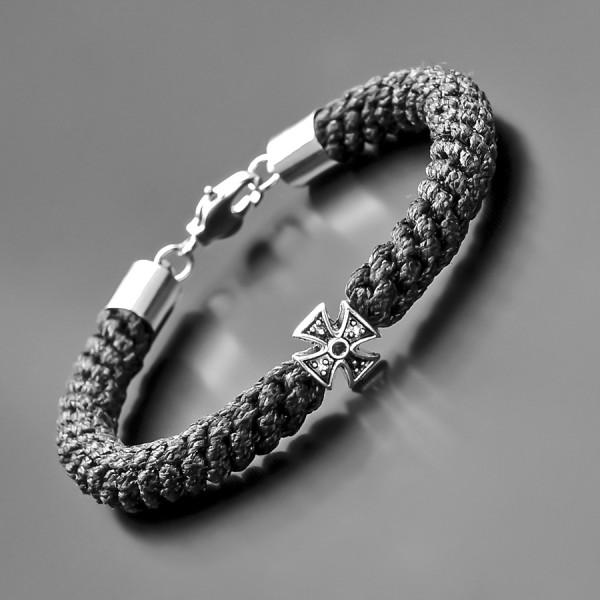 Авторский плетеный браслет Rico La Cara. Браслет в стиле брояница.