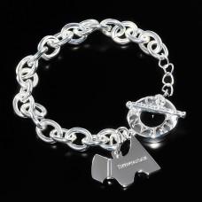 Женский браслет с собачкой.Tiffany&Co.