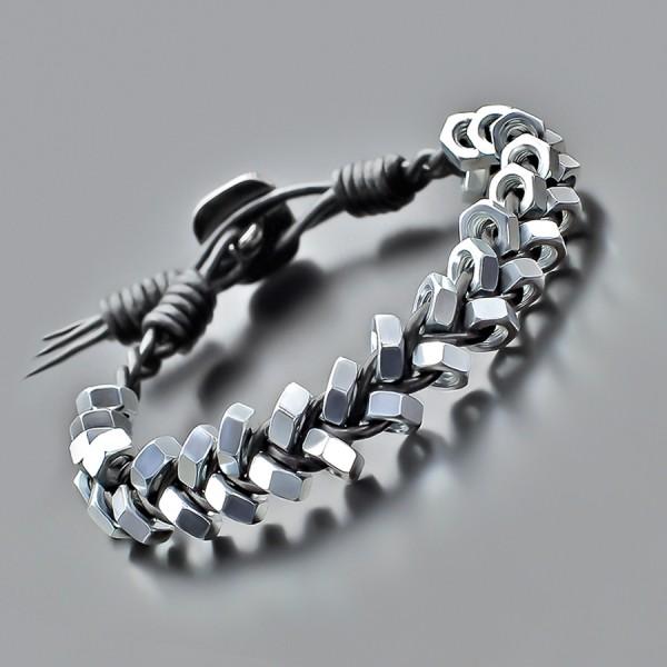 Дизайнерский браслет в стиле Chan Luu. Украшение на руку Rico La Cara.