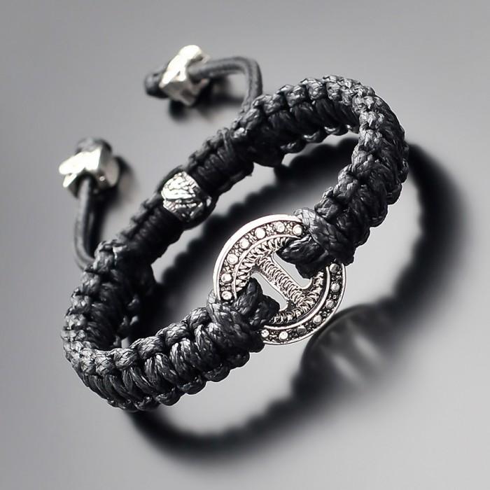 Дизайнерский браслет в стиле shambhala. Бижутерия Rico La Cara.