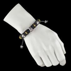 Украшение на руку браслет шамбала. Дизайнерская бижутерия.