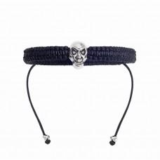 Шамбала. HOGER, дизайнерский браслет с черепом.