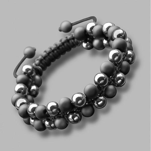 Украшение на руку, shambhala. Дизайнерская бижутерия из полудрагоценных камней.
