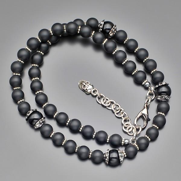 Чокер (Сhoker) Rico La Cara. Ожерелье из природного шунгита.