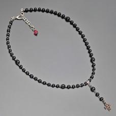 Чокер Rico La Cara. Ожерелье с подвеской в форме креста.