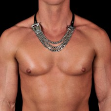 Украшение на шею. Бижутерия, римская цепь.