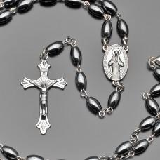Розарий, бусы с крестом, Украшение на шею Rico La Cara.
