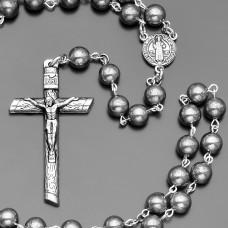 Мужской розарий четки с крестом. Украшение Rico La Cara.