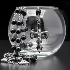 Розарий с крестом. Украшение на шею. Rico La Cara.